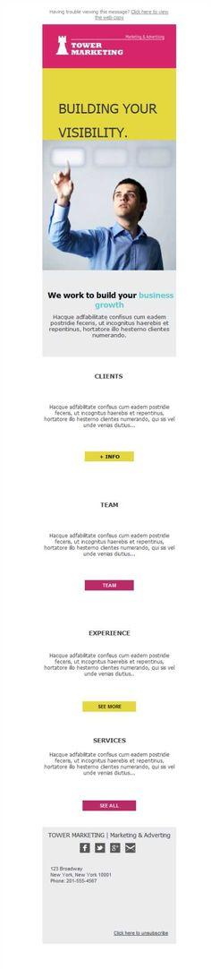 Versión móvil gracias al diseño responsive que ofrece Mailify. Tu empresa de Marketing y Publicidad tendrá un mayor alcance y tasa de aperturas, ¡descúbrelo!