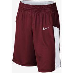 Nike Fastbreak Stock Girls' Basketball Shorts. Nike.com ($30) ❤ liked on Polyvore featuring shorts