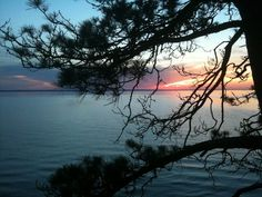 Northern Michigan has the most beautiful sunsets.