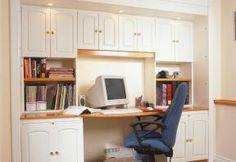 Turn closet space into office space