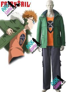 Leo Loke Loki Costume - Fairy Tail Leo Loke Loki Cosplay Green Mens Fairy Tail Cosplay Costume