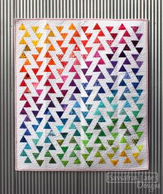 "Fantastic ""Lombard Street Quilt"" from Sassafras Lane Designs."