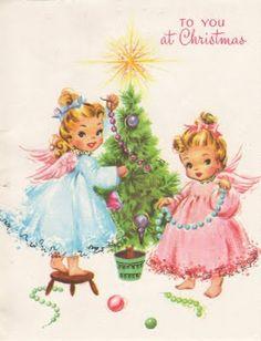 vintage Christmas cards