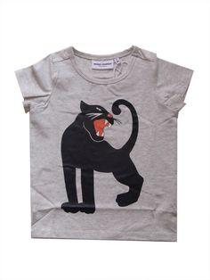 mini rodini black panther short sleeve tee - Click Image to Close