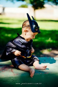 #joãovalentim #batman #batmanbaby #dccomics #dcbaby #6meses #fotografiainfantil
