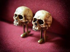 Victorian Skull Cufflinks  Scary Hand made by GothChicAccessories, $32.00  #Accessories #Cuff #Men #mencufflinks #cufflinks #skull #victorian #accessories #gothiccufflinks #gothicoddities #gothicjewelry  #skulljewelry #skullcufflinks #gothicaccessories