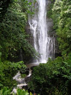 Amazing #waterfall in #Hawaii. Find the best #location for your photo and film #production here : http://www.productionparadise.com/location-finder.html
