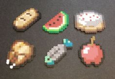 Minecraft Perler Beads Food | 1000x1000.jpg