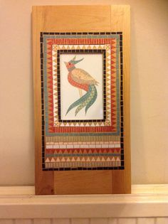 Mosaics, Boxes, Paper, Frame, Cards, Home Decor, Picture Frame, Crates, Decoration Home