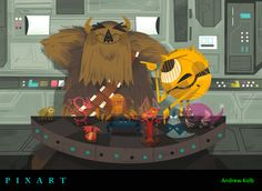 PixArt: Monsters Mash-Up Round 1 Mixes With The Worlds of Star Wars, Lord of the Rings, Beauty and the Beast, & More!