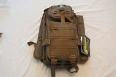 Voodoo Tactical Level III Backpack Assault Pack Coyote NWT Free Shipping #VoodooTactical