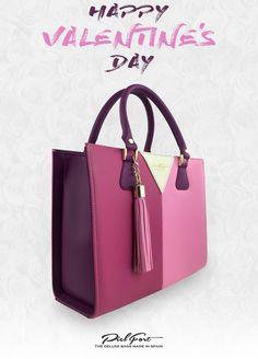 PielFort Bags wishes you a happy Valentine's day / Bolsos PielFort les desea un feliz día de San Valentín