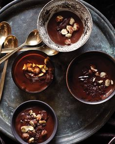 Divine Hazelnut Chocolate Pudding: Great recipes and more at http://www.sweetpaulmag.com !! @Sweet Paul Magazine