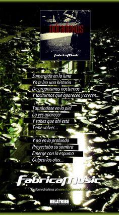 Organismo nocturno (lyrics) - odradexus  Explore odradexus at fabricamusic.com  www.fabricamusic.com