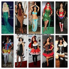 Kim Kardashian costumes / dress ups