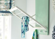 DIY Laundry Room Storage - Drying Rack