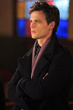 Oh he's cute. Matthew Gray Gubler
