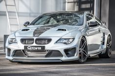 G-Power's highly modified BMW M6 E63 now known as the G6M Hurricane CS.