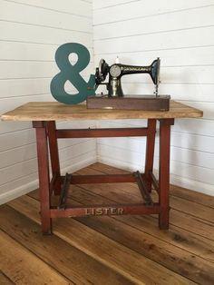 Vintage Table, Lister Frame - Lovingly Made Garden & Home Vintage Boutique Sussex - Vintage Furniture