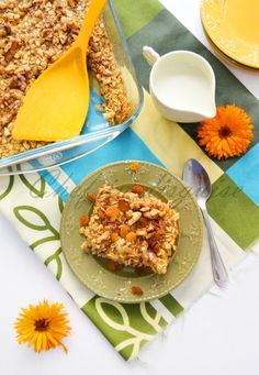Quick easy and delicious baked oatmeal