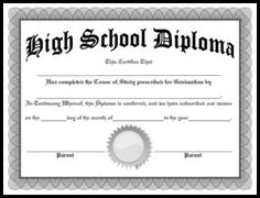 photo about Printable High School Diploma identify 14 Ideal Large college degree photographs inside 2014 Superior higher education