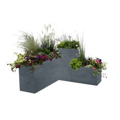 Balcony Garden, Garden Pots, Front House Landscaping, Rooftop Design, Natural Fence, Green Architecture, House Landscape, Modern Kitchen Design, Container Plants