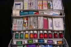 """A Nurse's Fully Stocked Medical Kit 