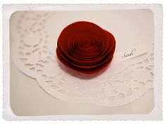 rose place card by idoityourself, via Flickr