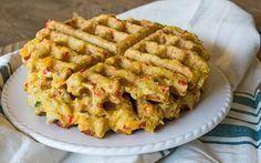 gaufres aux légumes Weight Watchers, une recette des gaufres légères, facile et simple à réaliser et à servir avec une petite salade.