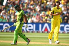 Starc had the last laugh after a war of words with Riaz