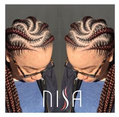 Precision by @nisaraye - http://community.blackhairinformation.com/hairstyle-gallery/braids-twists/precision-by-nisaraye/ #CornrowsBraids