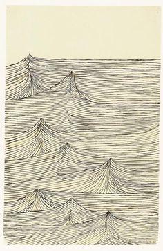 "Louise Bourgeois  ""Throbbing Pulse"" 1944"