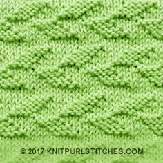 Feb I'm happy to share a new stitch called Alternating Welted Leaf. It's a very simple stitch to knit and looks very beautiful, perfect for sweaters. Leaf Knitting Pattern, Barbie Knitting Patterns, Beginner Knitting Patterns, Dishcloth Knitting Patterns, Knit Dishcloth, Knit Stitches For Beginners, Knit Purl Stitches, Knitting Stiches, Knitting Charts