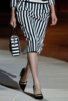 Marc Jacobs  S/S 2013 New York - Bold Stripe Trend