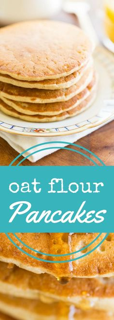 Just like classic buttermilk pancakes, but made with oat flour, these delicious oat flour pancakes will please even the pickiest breakfast eater. Use gluten free oat flour to make them completely gluten free. via @recipeforperfec
