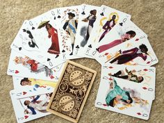 Fanartist creates beautiful playing cards inspired by the 'Hamilton' cast | The…