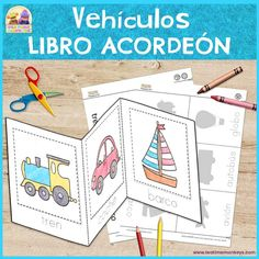 Transport – Cut & Paste Accordion Book – Your family's car SUVs, which we know… – Appearanceworksheet Group Activities, Preschool Activities, Transportation Crafts, Fun Educational Games, Dumbo The Flying Elephant, Flashcards For Kids, Accordion Book, Picture Boxes, S Car