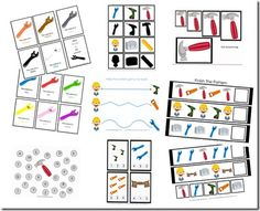 Tools tot pack. Has a lot of printables