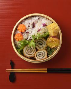 豚海苔のくるくる揚げ弁当 / Fried Pork & Nori Rolls Bento お弁当を作ったら #edit_jp で投稿してね!