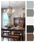 Looking for Cottage Living Space and Dining Room ideas? Browse Cottage Living Space and Dining Room images for decor, layout, furniture, and storage inspiration from HGTV. Cottage Dining Rooms, Farmhouse Dining Room Table, Dining Room Table Decor, Dining Room Design, Room Decor, Table Bench, Rustic Farmhouse, Dining Area, Urban Farmhouse