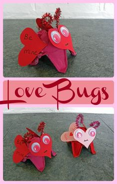 Love Bugs Valentine's Day Craft