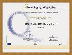 ενδελέχεια ...: Συγχαρητήρια eTwinners του 2ου ΓΕΛ Εχεδώρου!!!