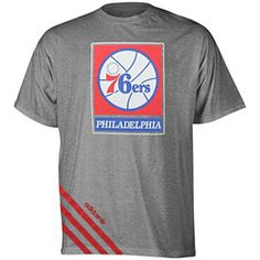 cdd1ee7be019 Get this Philadelphia 76ers Original Big Stripes Tri-Blend T-Shirt at  PhillyTeamStore.