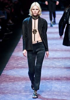 Bejeweled Harness Plus Tuxedo   #Trend for Spring Summer 2013.   Paco Rabanne  Spring Summer 2013.   More Harness Trend for Spring Summer 2013.   #Fashion