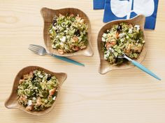 Orzo Salad With Shrimp and Feta recipe from Food Network Kitchen via Food Network