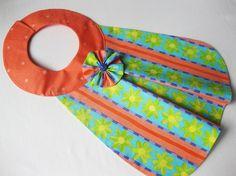 Baby Bib for Baby Girl  Alisa by LadushkiCreations on Etsy, $12.50