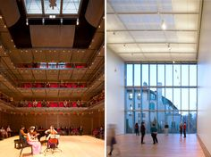 renzo piano: isabella stewart gardner museum opens in boston. Calderwood Hall and the Hostetter Gallery.