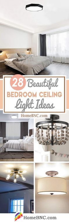 28 of the Most Stylish Bedroom Ceiling Lights for Your Home - Homebnc.site - Beautiful and Creative Home Design and Decor Ideas Bedroom Decor Lights, Bedroom Ceiling, Bedroom Wall, Home Decor Trends, Home Decor Inspiration, Decor Ideas, Decorating Ideas, Craft Ideas, Best Ceiling Designs