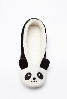 http://www.fashiontrendstoday.com/category/womens-slippers/ Plush Panda Slippers | Forever 21 - 2000146271
