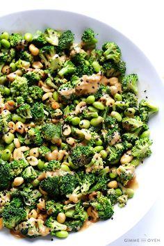 Asian Broccoli Salad healthy recipe ideas